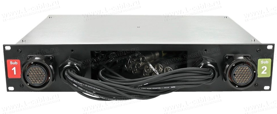Укладка патч-кабелей в место хранения