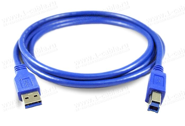 1K-USB307-AB-00.5, Кабель USB 3.0 для передачи данных, штекер (тип A) -штекер (тип В)