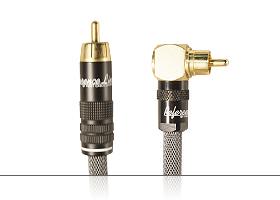 Аудиокабель для активных сабвуферов | серия REFERENCE Line | RCA штекер > RCA угловой штекер