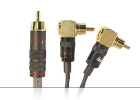 Аудиокабель для активных сабвуферов Y-образный | серия REFERENCE Line | RCA штекер > 2x RCA угловых штекера